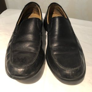 Cole Haan leather slip on loafers